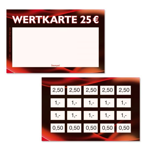 Wertkarten 70-720-003