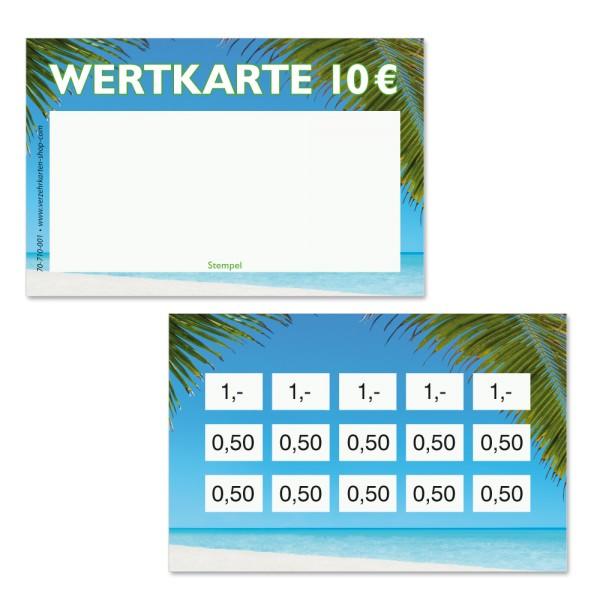 Wertkarten 70-710-001