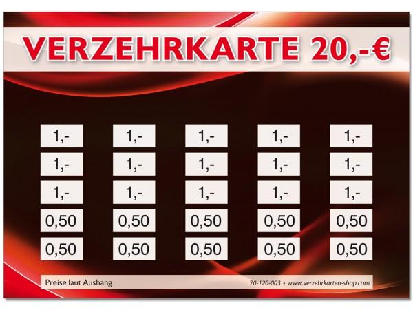 Verzehrkarten 70-120-003