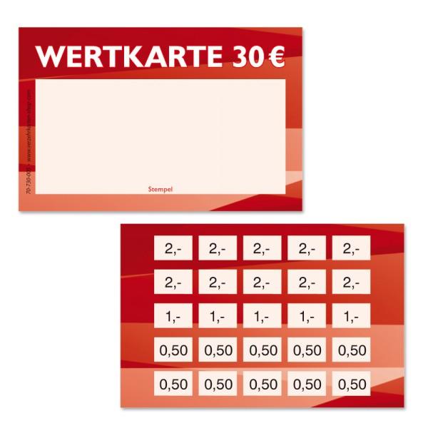 Wertkarte 70-730-005