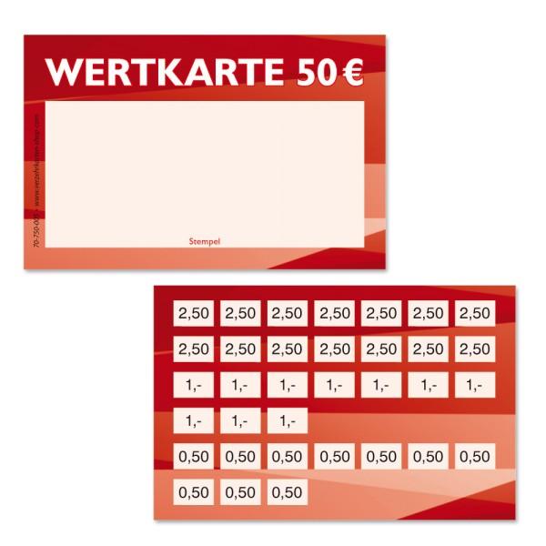 Wertkarte 70-750-005