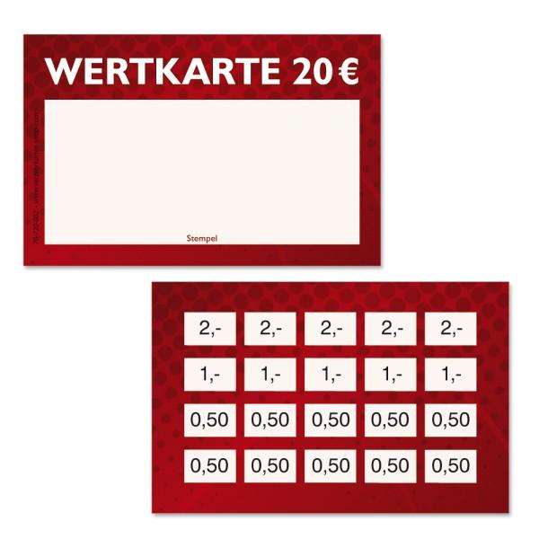 Wertkarten 70-720-002