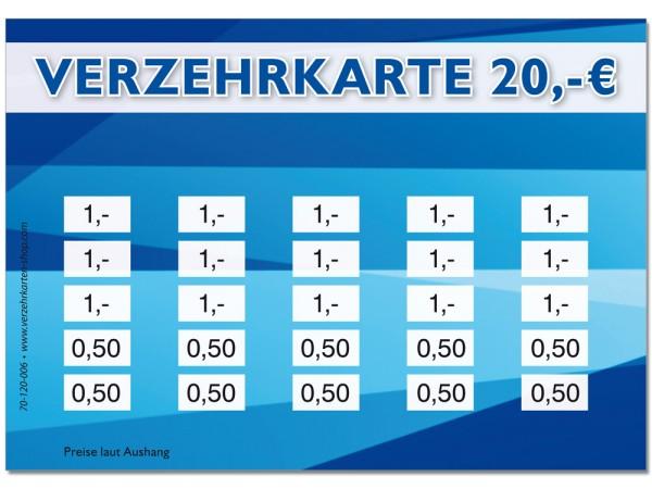 Verzehrkarte 70-120-006