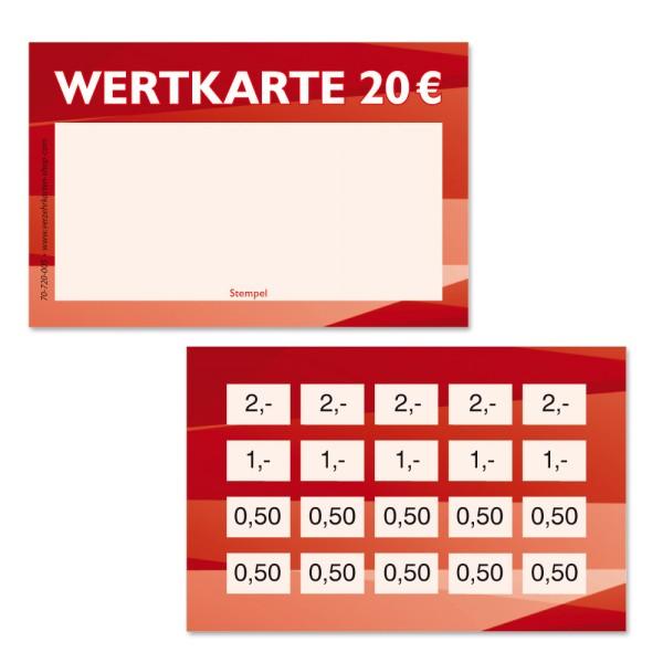 Wertkarte 70-720-005